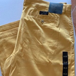 Banana Republic Emerson Chino Yellow